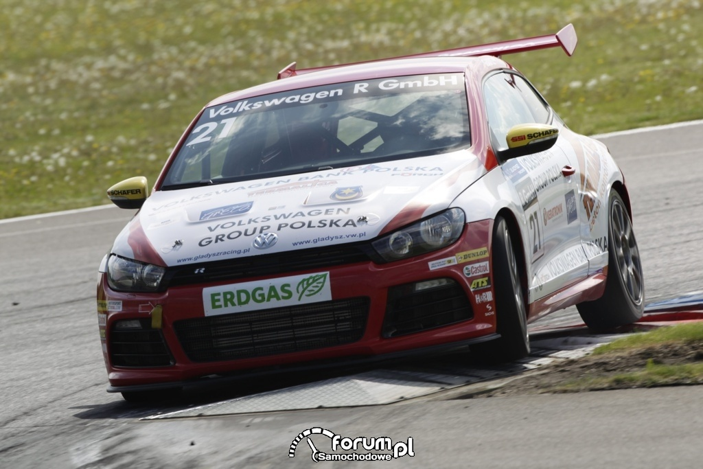 Puchar Scirocco R 2012, Adam Gładysz na podium, 6
