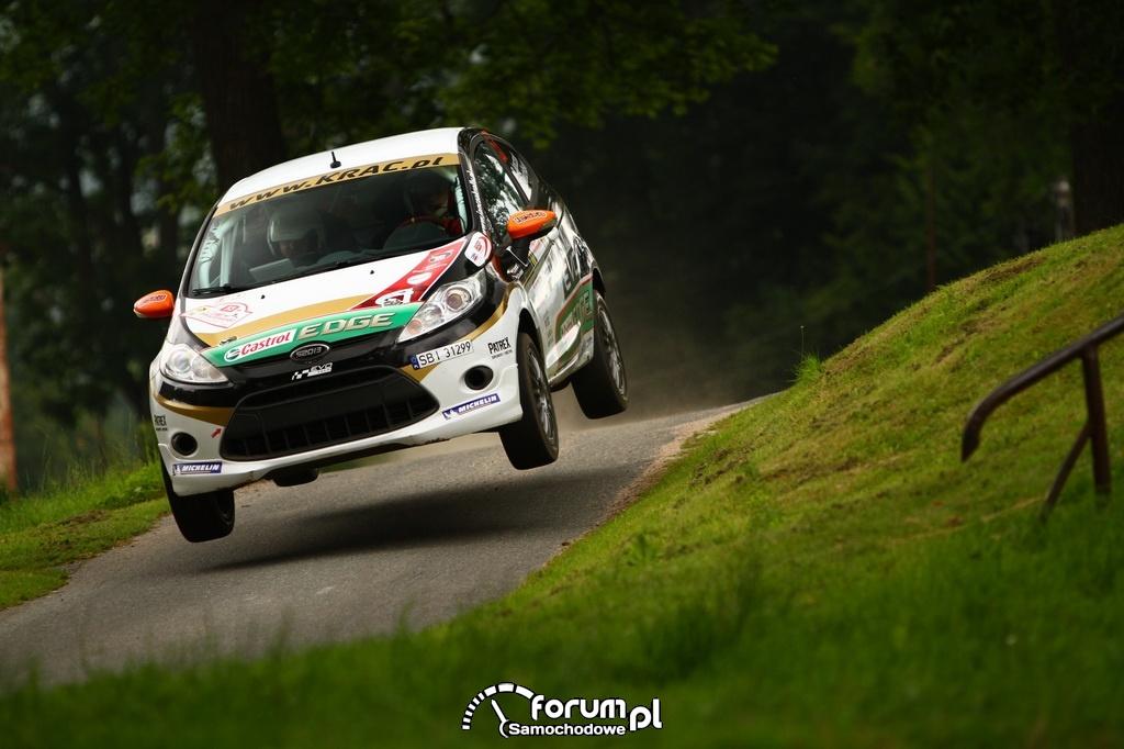 Rafał Janczak Michał Grudziński Ford Fiesta