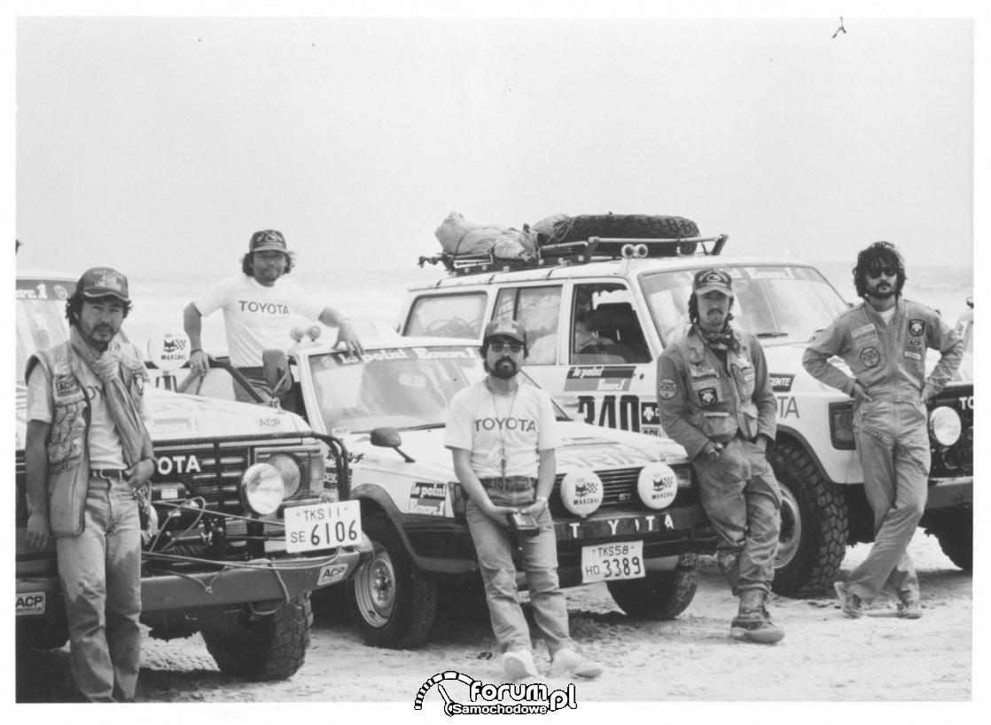 Rajd Dakar 1982 rok