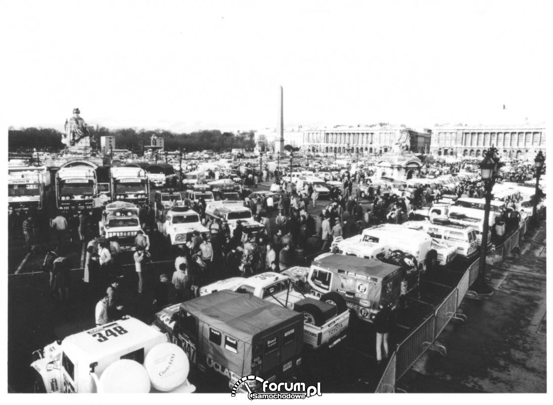 Rajd Dakar 1982 rok, zlot uczestników