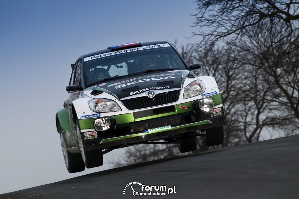 Rajd ERC - Jan Kopecky i Pavel Dresler