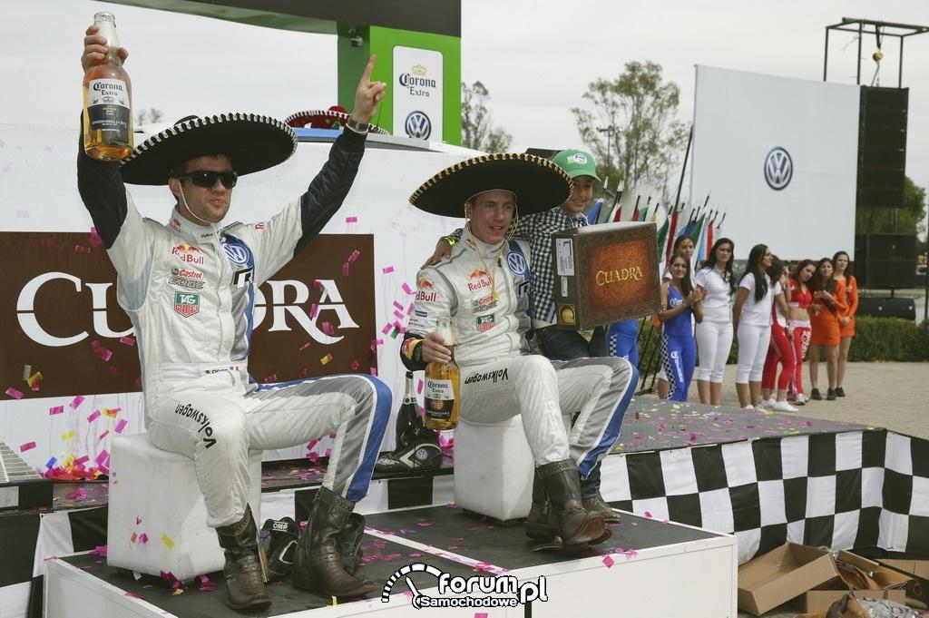 Rajd Meksyku na podium Sébastien Ogier i Julien Ingrassia