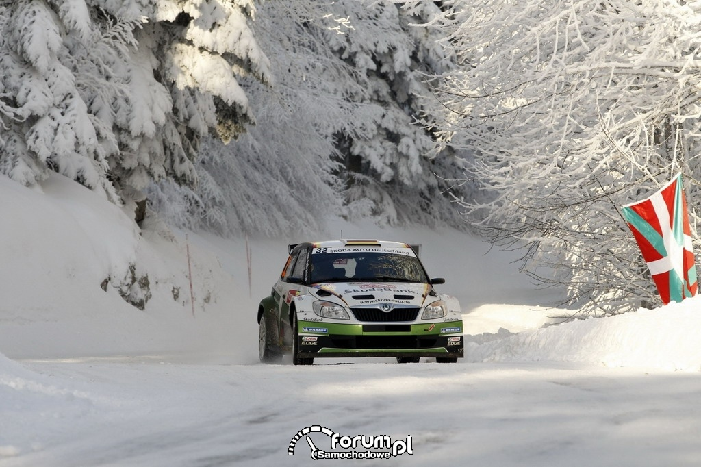 Rajd WRC2 w Monte Carlo, Skoda Fabia Super 2000, 3