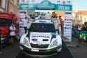 Rally Hustopece 2012, podium, SKODA Motorsport
