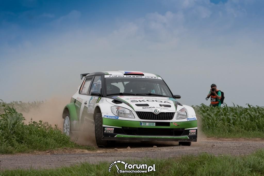 Rally Hustopece 2012, SKODA Motorsport
