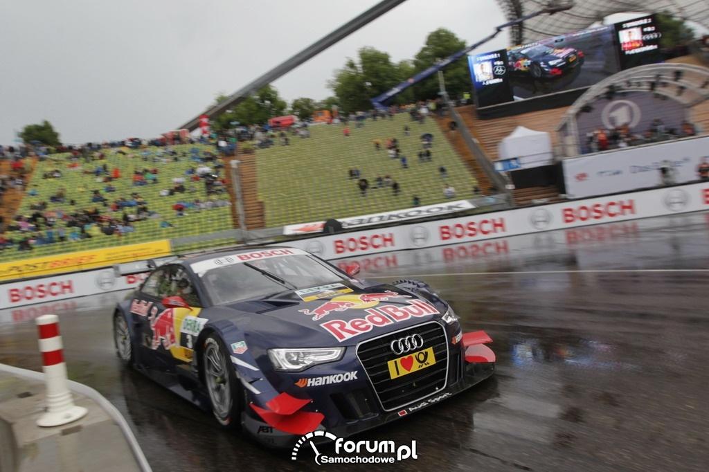 Red Bull Audi A5, DTM 2012 w Monachium