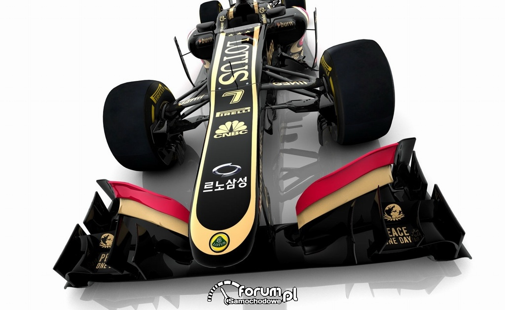 Renault Samsung Motors bolid F1