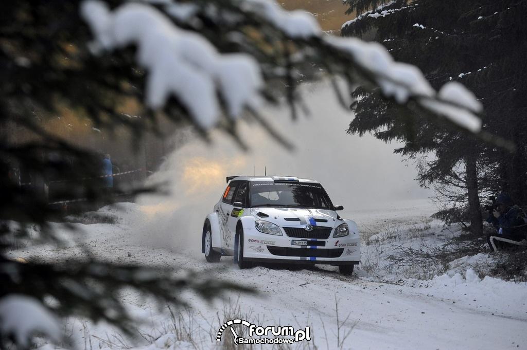 Sébastien Ogier I miejsce w klasie S2000 w Rajdzie Szwecji : 2
