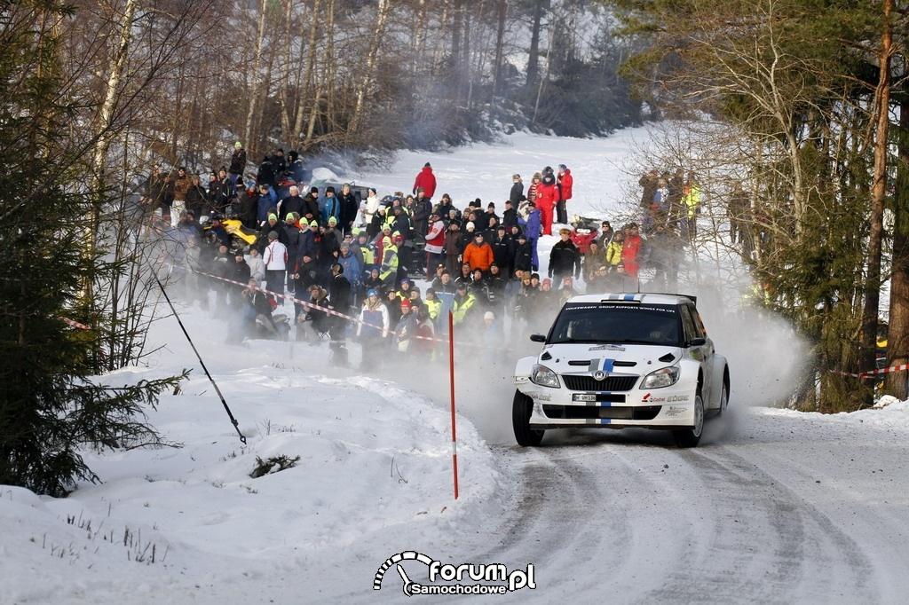 Sébastien Ogier I miejsce w klasie S2000 w Rajdzie Szwecji : 5
