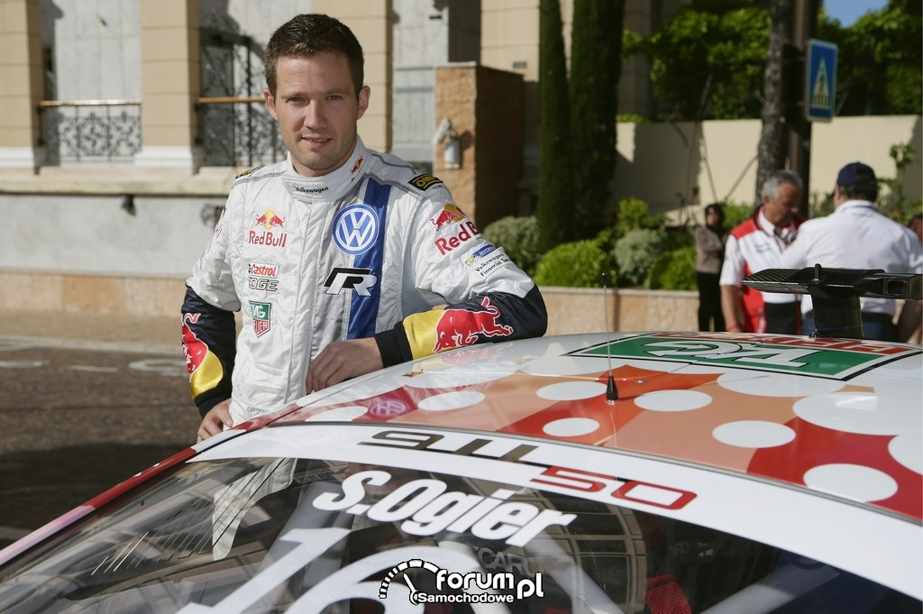 Sébastien Ogier, rajdowy kierowca Volkswagena