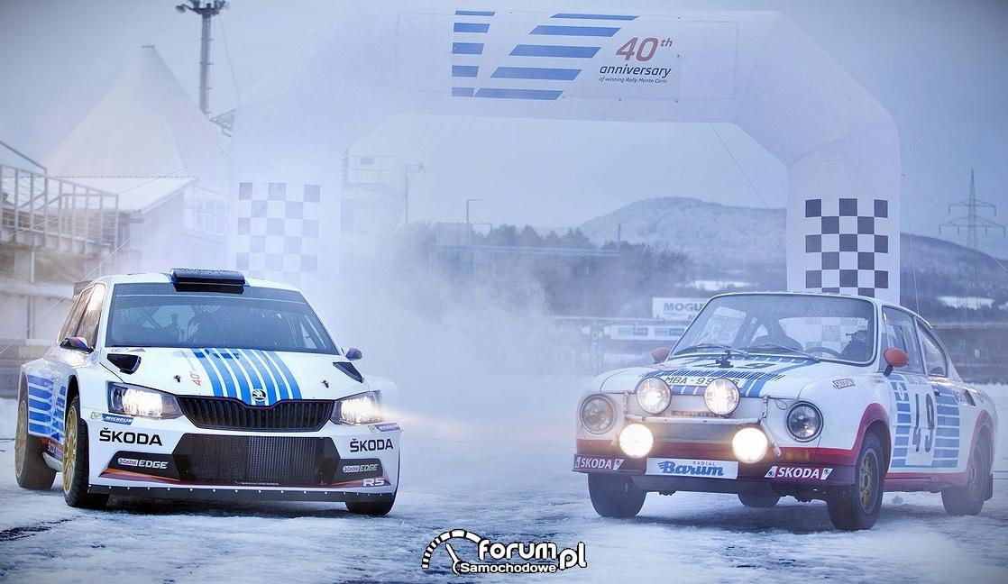 Skoda Fabia R5 vs. Skoda 130 RS