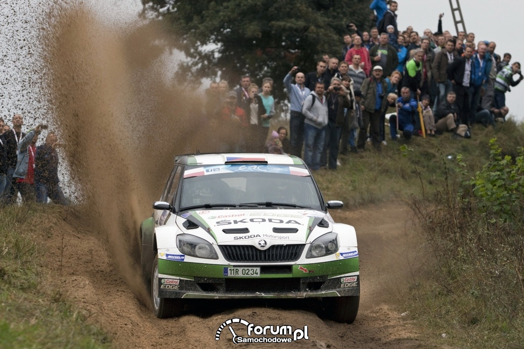 Skoda Fabia S2000, Jan Kopecký i Pavel Dresler