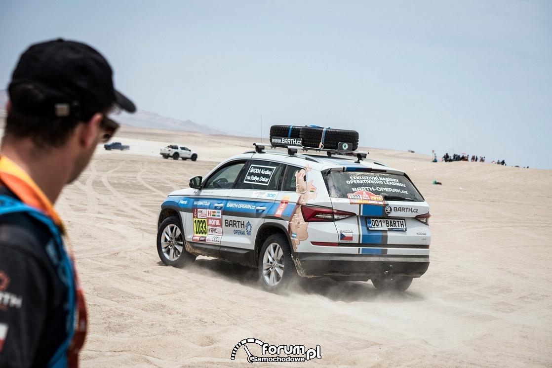 Skoda Kodiaq Rally-Dakar, 2