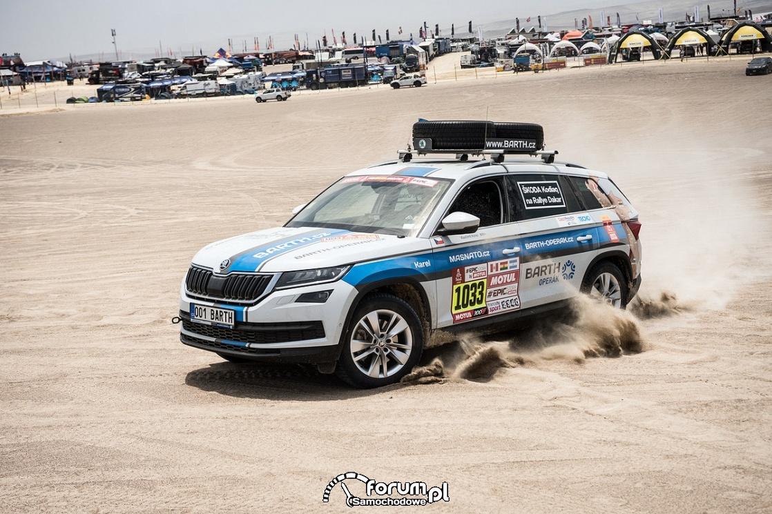 Skoda Kodiaq Rally-Dakar
