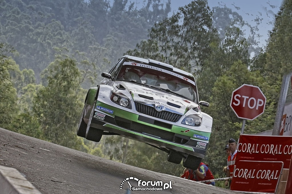 SKODA Motorsport, zawody IRC 2012, Madeira Island