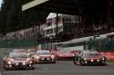 Start, 24-godzinny wyścig na torze Grand Prix w belgijskich Ardenach.
