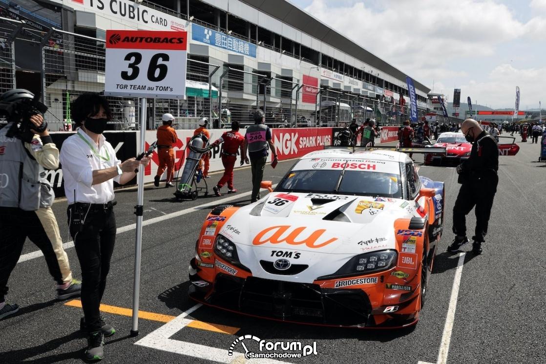 TGR Team au Tom's, Toyota GR Supra, Autobacs Super GT