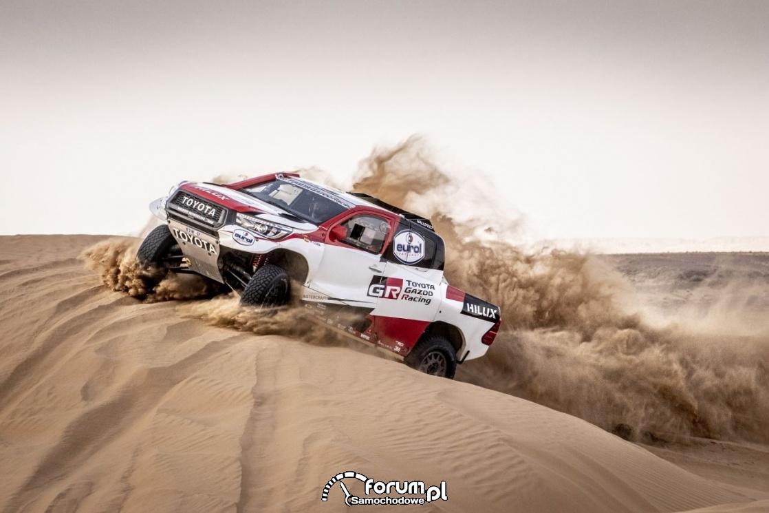 TGR - Toyota Hilux, Rajd Dakar
