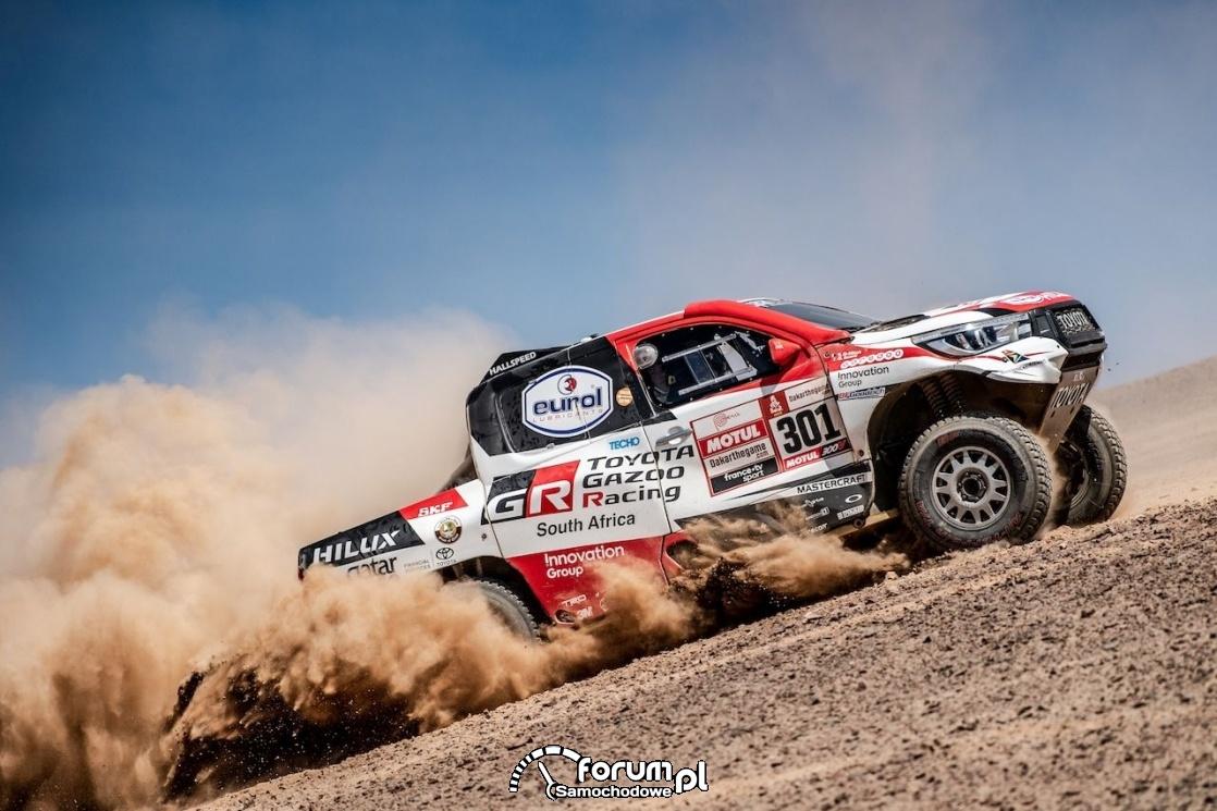 TGR - Toyota Hilux, Rajd Dakar, wyścig