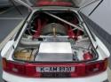 Toyota Celica ST 165, Carlos Sainz, koło zapasowe i bagażnik