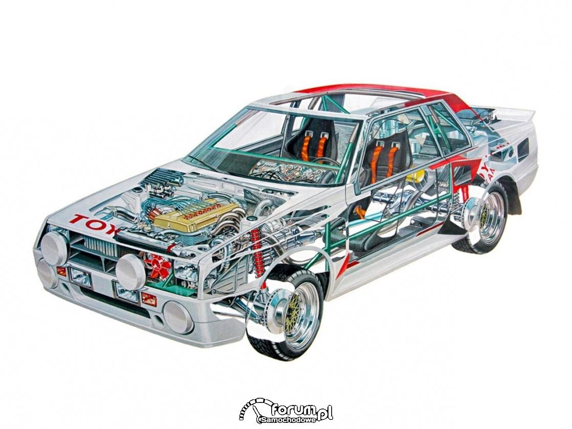 Toyota Celica Twin Cam Turbo TA64