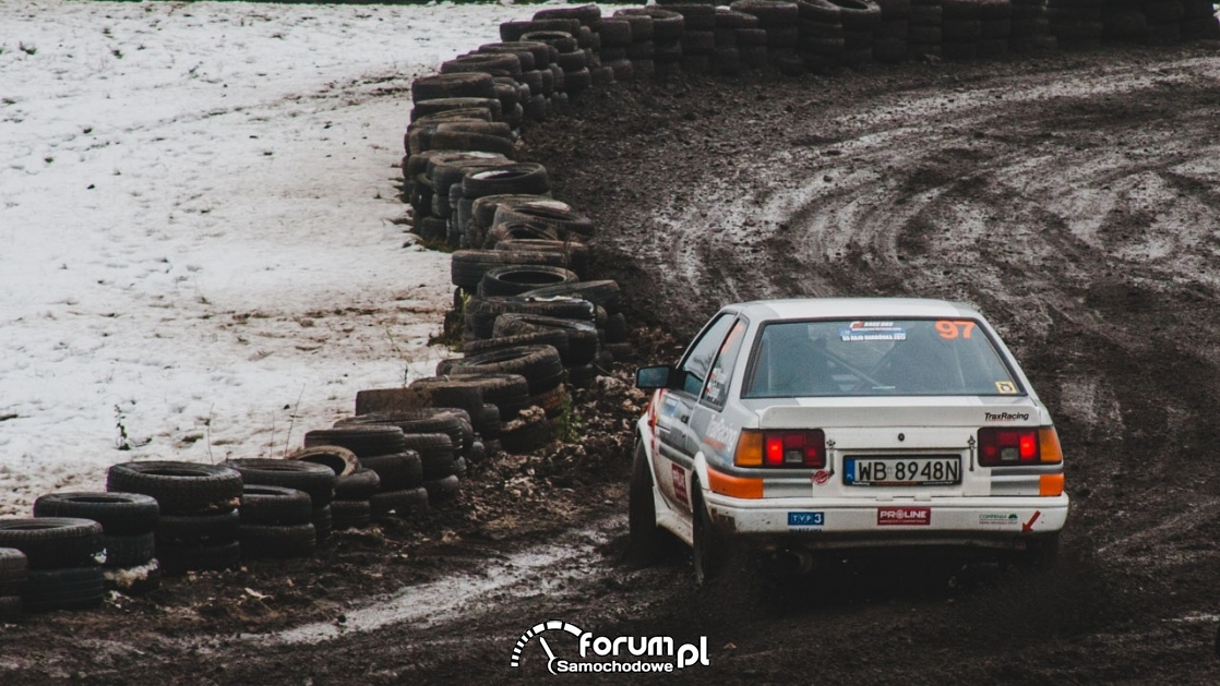 Toyota Corolla AE86, Rajd Barbórka