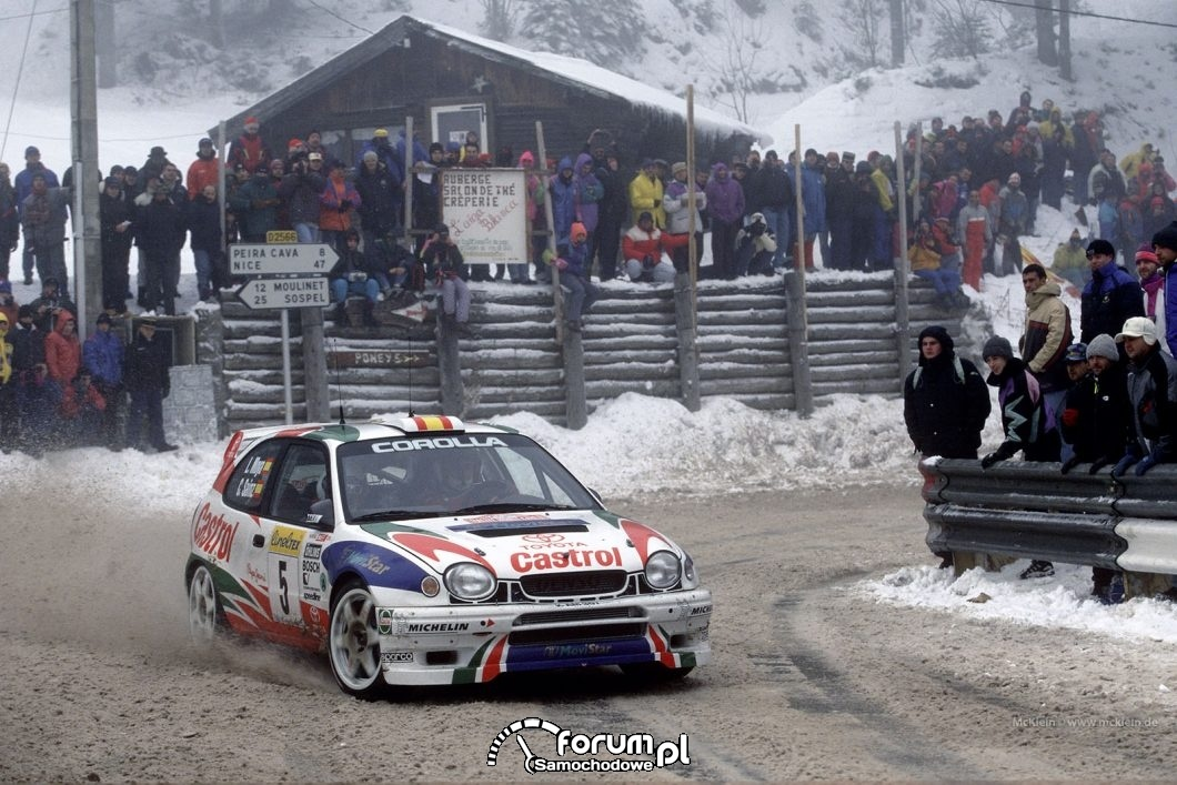 Toyota Corolla WRC, 1997-1999