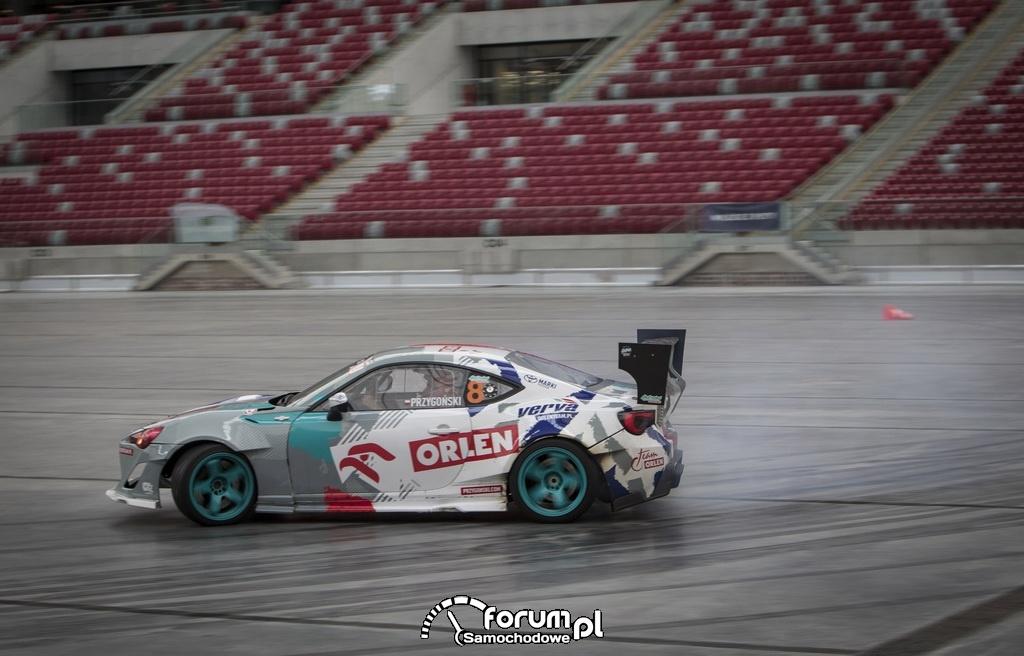 Toyota GT86 o mocy 1000 koni mechanicznych, Kuba Przygoński z ORLEN Team