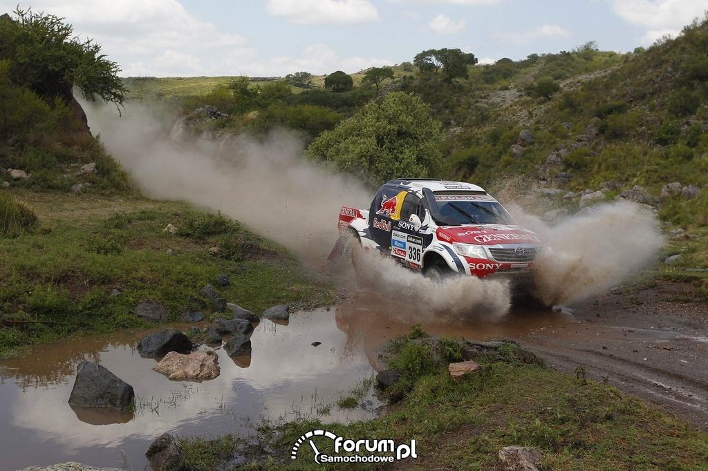 Toyota Hilux w Rajdzie Dakar 2013, zespół Małysz - Marton, 1