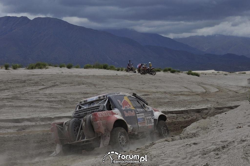 Toyota Hilux w Rajdzie Dakar 2013, zespół Małysz - Marton, 5