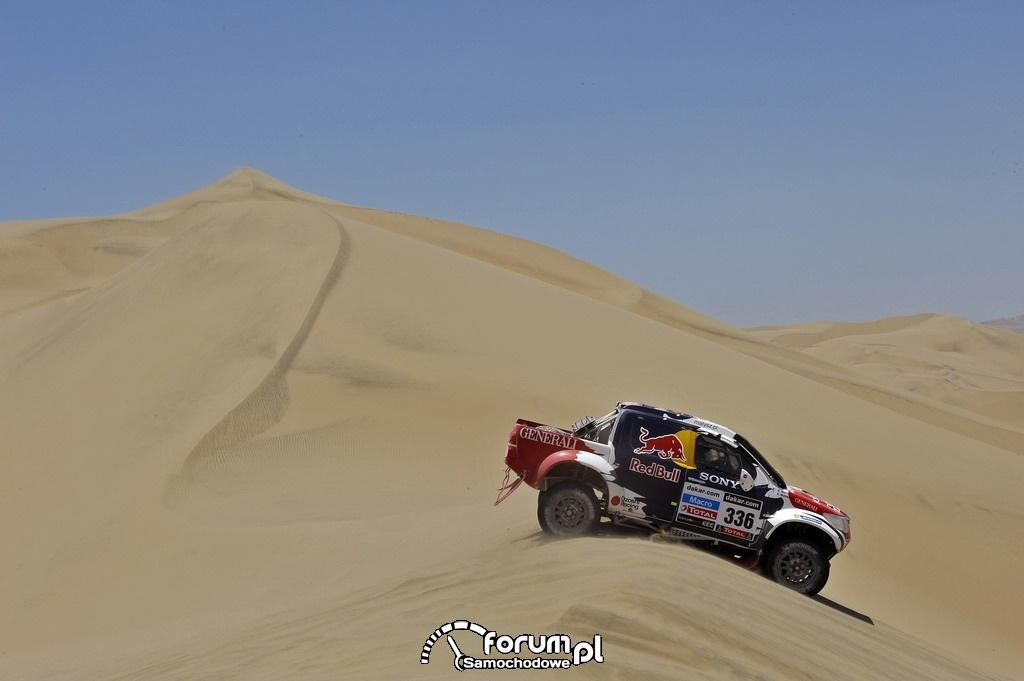 Toyota Hilux w Rajdzie Dakar 2013, zespół Małysz - Marton, 7