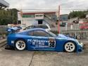 Toyota Supra A80 GT500, bok