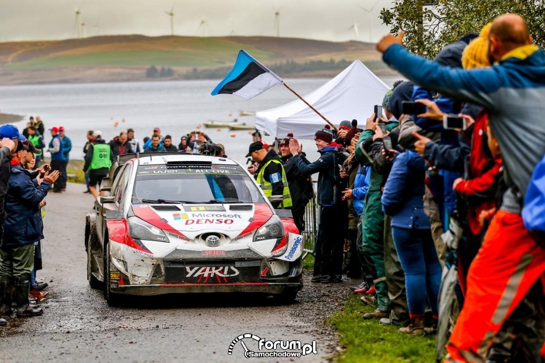 Toyota najszybsza w Rajdzie Walii. Ott Tänak blisko mistrzostwa świata