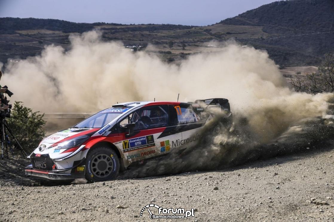 Yaris WRC najszybszy w Rajdzie Meksyku
