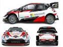 Toyota Yaris WRC, sezon 2020