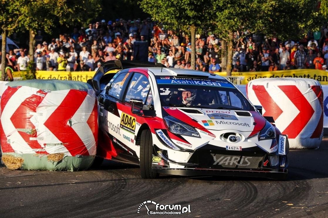 Toyota Yaris WRC, slalom