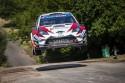 Toyota Yaris WRC w powietrzu
