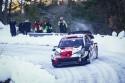 Toyota Yaris WRC, zima, zakręt