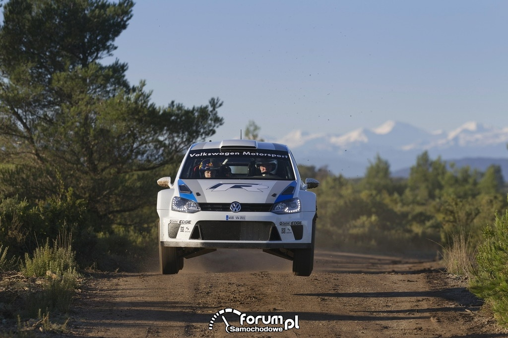 Volkswagen Polo R WRC, długi skok