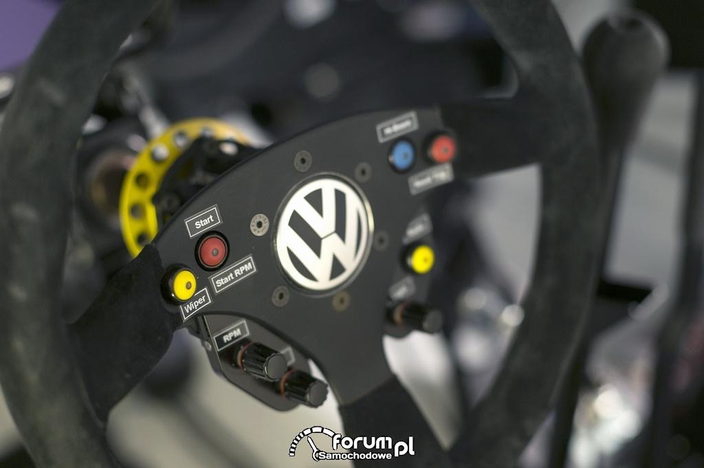 Volkswagen Polo R WRC, kierownica