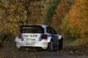 Volkswagen Polo R WRC, rajd, asfalt i liście