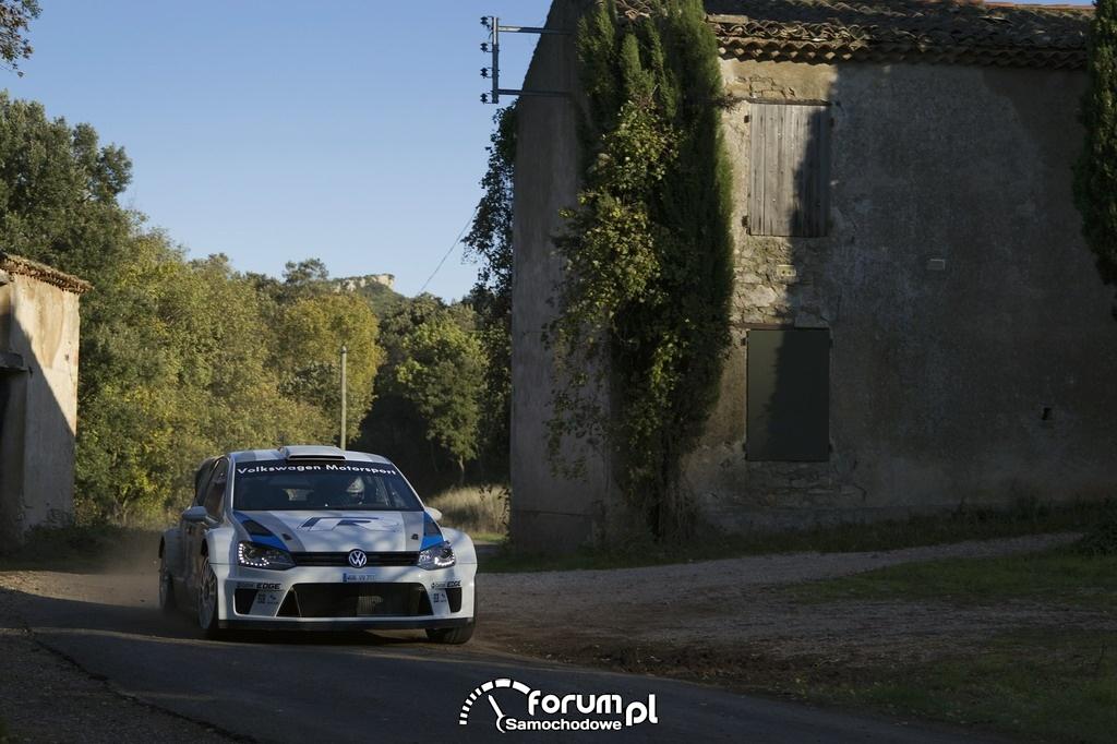 Volkswagen Polo R WRC, rajd, asfalt