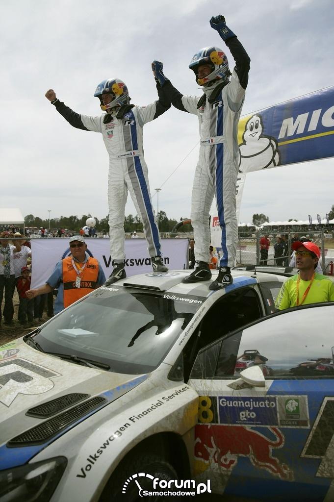 Volkswagen Polo R WRC, Rajd Meksyku, finish