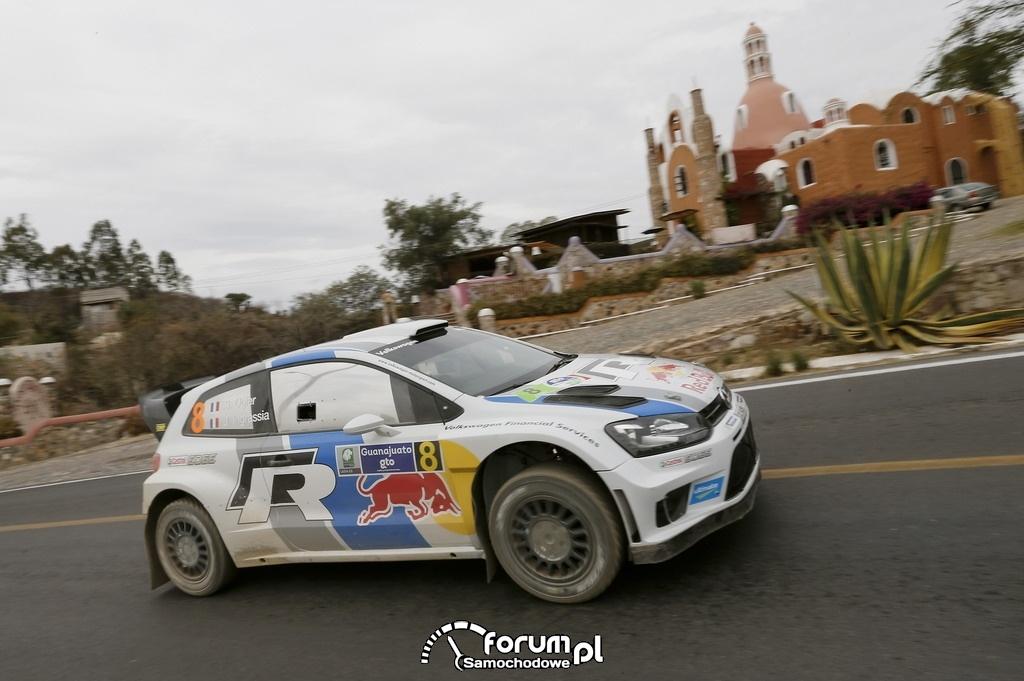 Volkswagen Polo R WRC, Rajd Meksyku, na asfalcie