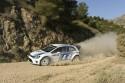 Volkswagen Polo R WRC, rajd, szutr, zakręt