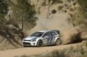 Volkswagen Polo R WRC, rajd, szutr, zkręt