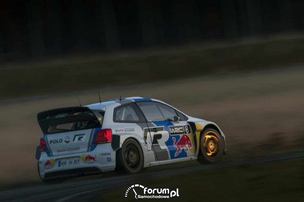 Volkswagen Polo R WRC w legendarnym Rajdzie Monte Carlo, 2
