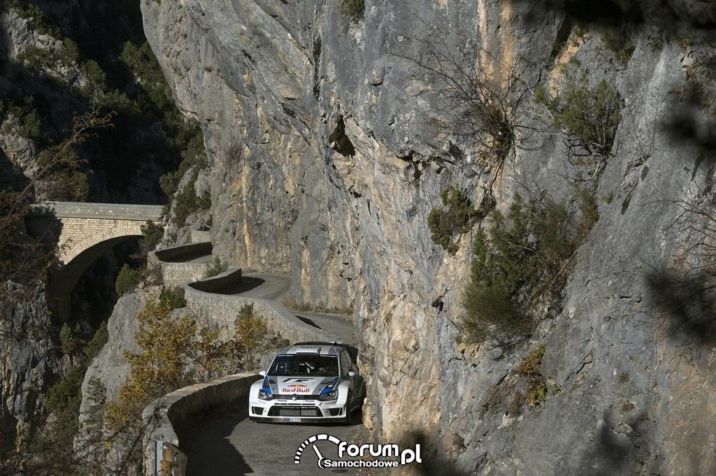 Volkswagen Polo R WRC w legendarnym Rajdzie Monte Carlo, 4