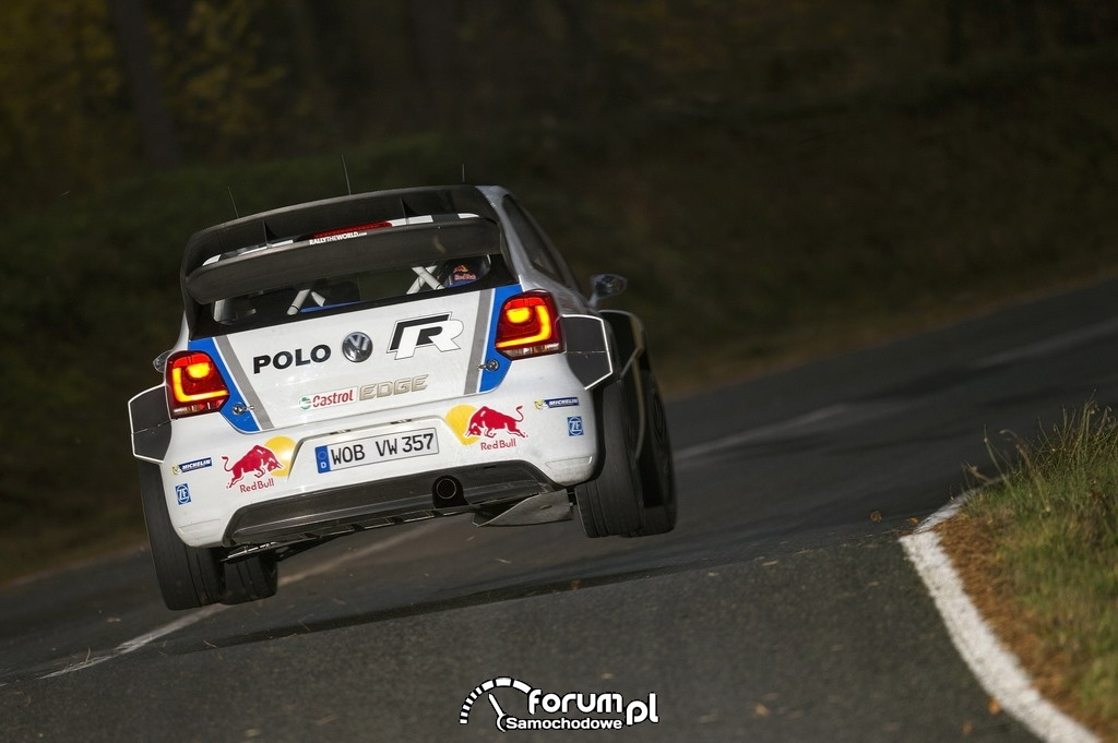 Volkswagen Polo R WRC w legendarnym Rajdzie Monte Carlo