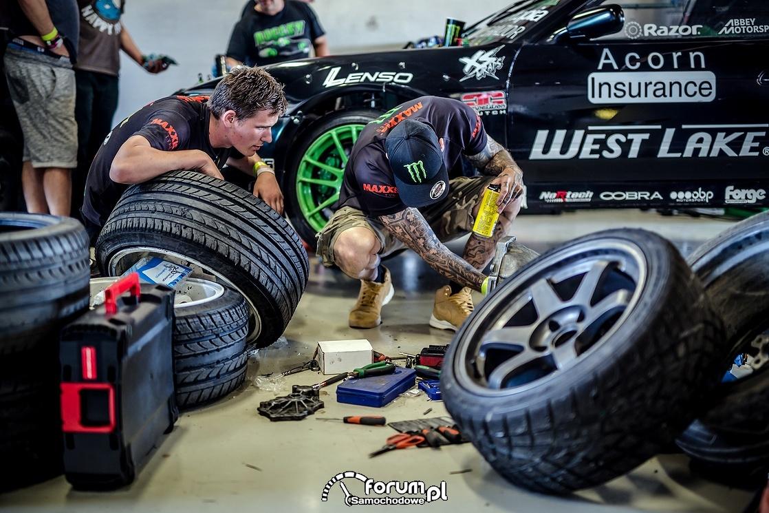 W garażu, Gatebil Rudskogen 2015